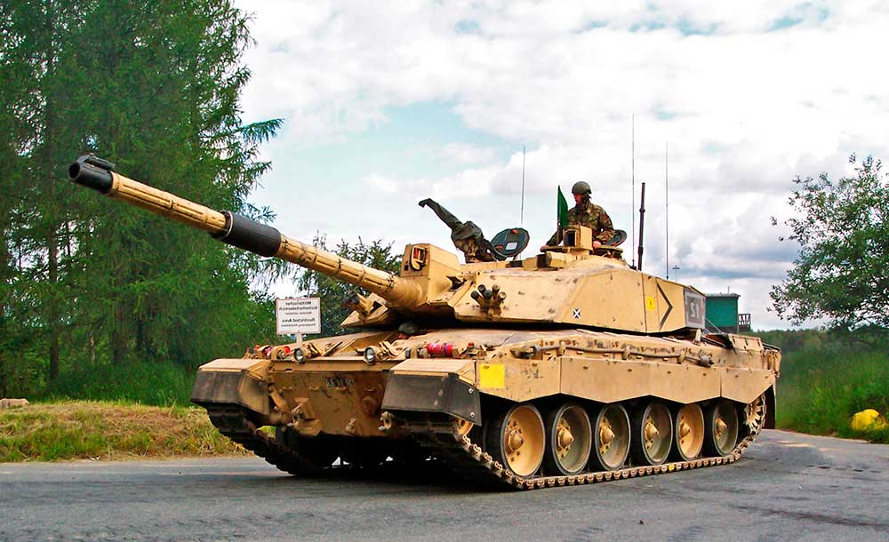 танк Челленджер 2