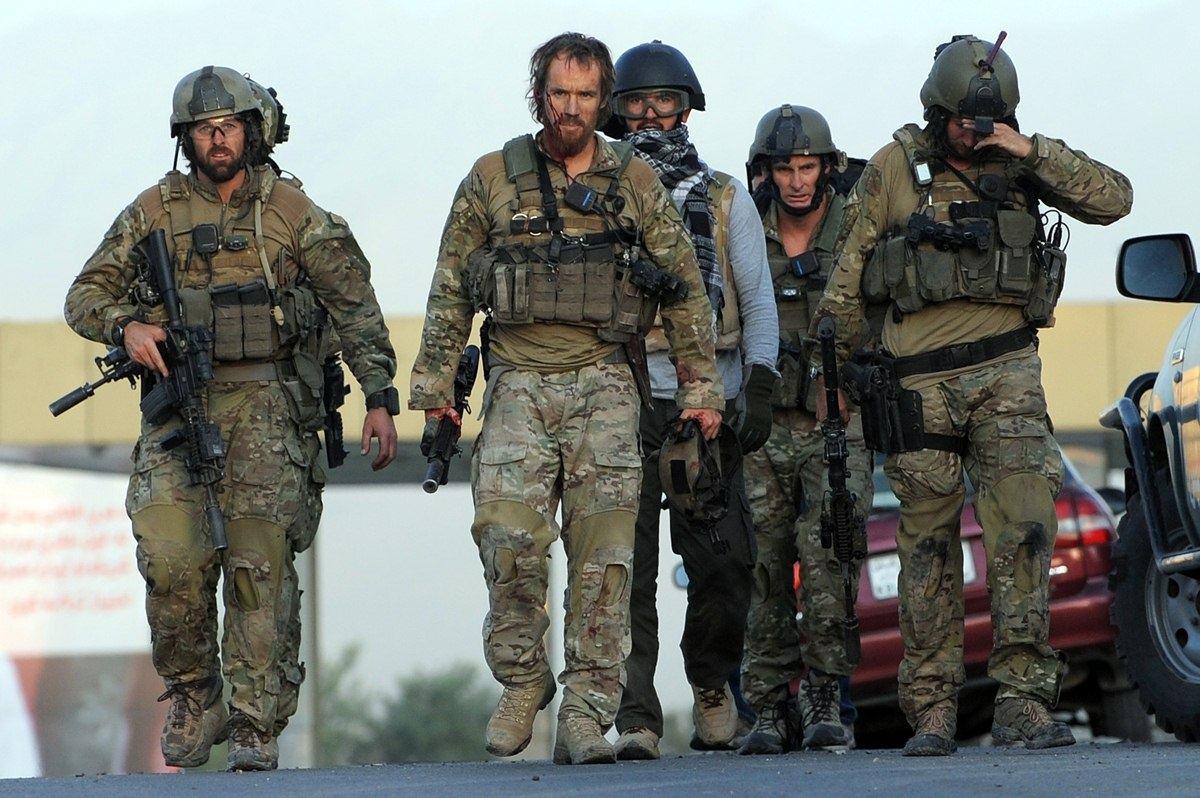 Великобританские военные