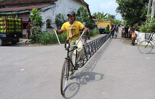 велосипед длиною 22,24 м.