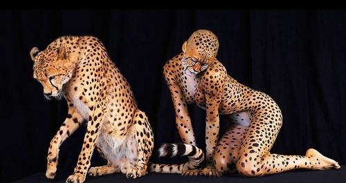 Самый страшный гепард-человек