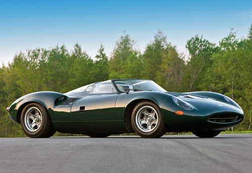 1966 Jaguar XJ13; top car design rating and specifications
