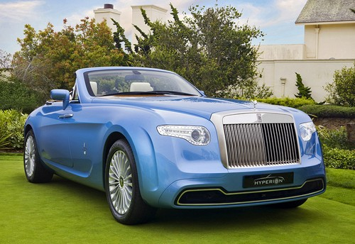 2008 Rolls-Royce Hyperion Pininfarina; top car design rating and specifications