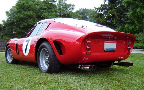 1962 Ferrari 250 GTO; top car rating and specifications