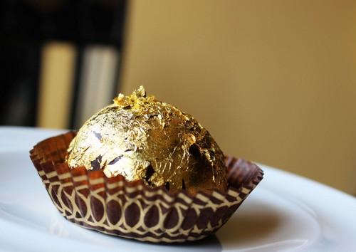 Шоколадный пудинг Фаберже