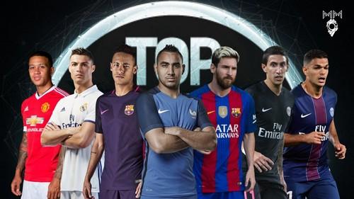 Топ-10 самых лучших футболистов 2016-2017